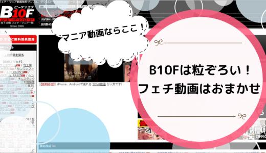 【閲覧注意】B10Fを使ったらエロの概念が変わったよ☆本物のマニアックがここにある!